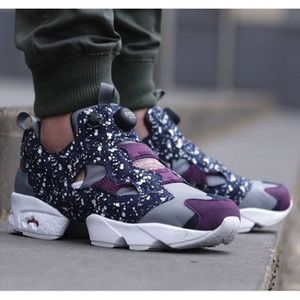 Reebok instapump sneakers unisex Men US5 Wmn US6.5